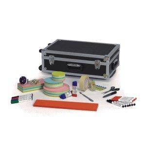 Moderatorentrolley Maulexpert, Abschließbar, 2232 Teile, 38 x 60, 5 x 20 cm - 20 Rollen Koffer