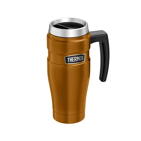Thermos 101829 Stainless King Travel Mug, Midnight Blue, 470 ml , Large