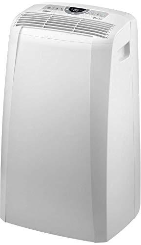 De\'Longhi Pinguino PAC CN93 ECO Silent - mobiles Klimagerät mit Abluftschlauch, Klimaanlage für Räume bis 90 m³, Luftentfeuchter, Ventilationsfunktion, 12h-Timer, 2,6 kW, 75 x 45 x 39,5 cm, weiß