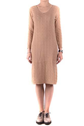 Ralph Lauren Luxury Fashion Damen MCBI31850 Beige Kleid | Jahreszeit Outlet