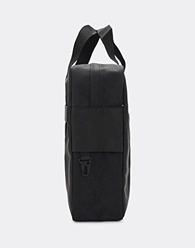 Rains Utility Tote Messenger Bag One Size Black