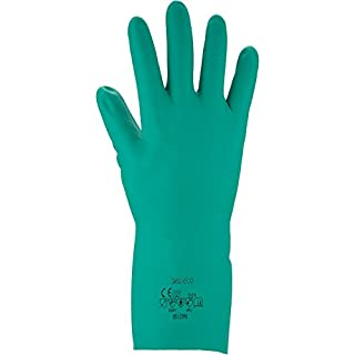 Asatex 3450 Eco 10 Chemical Protective Gloves - Food Safe - Green, Size 10