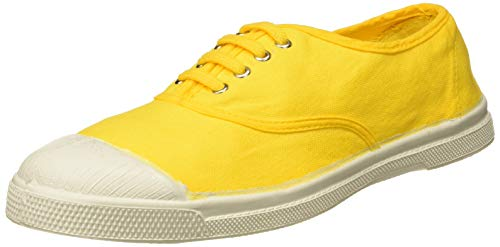 Bensimon Tennis Lacets, Baskets Femmes, Jaune (Citron 0249), 41 EU