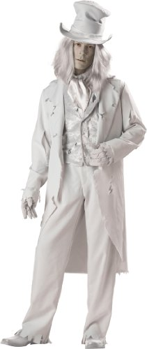 Ghostly Gentleman Fancy dress costume X-Large