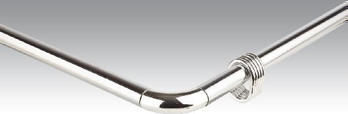 Barra Per Tenda Doccia.Bastone Per Tenda Doccia In Alluminio Angolo Rod Barra Universale