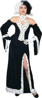 Cruella Deville Style Costume (Cruella Kostüme Erwachsene Deville Für)