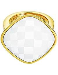 Esprit Damen-Ring eindrucksvoll weiß Edelstahl Gr. 54 (17.2) ESRG11568C170