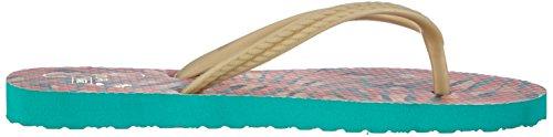 Vans HANELEI Damen Zehentrenner Mehrfarbig ((Seea) tropical FLS)