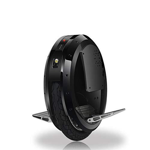 LHY RIDING 16-Zoll Elektrische Einräder Balance Auto Erwachsene Elektrische Einrad Reise Sinn Auto Drift Twist Auto Roller Eingebaute Bluetooth Audio (Ohne Batterie),Black,16inch