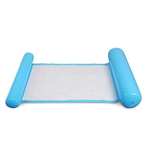 Starmood gonfiabile acqua amaca galleggiante letto sedia a sdraio drifter piscina spiaggia galleggiante per adulto - blu