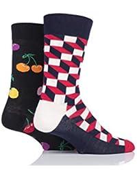 Happy Socks Homme et Femme Noël Cracker Coffret Cadeau Chaussettes Paquet  ... dd725ce2922