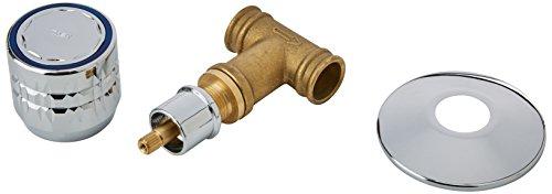 72568 2 Barre de douche /ø 18 mm x 60 cm Chrome Aquasu Prano