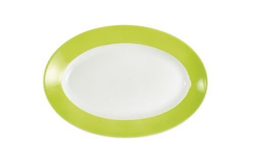 Kahla - Porcelaine pour les Sens 573306A72456C Pronto Colore Plateau Ovale Citron Vert 32 cm