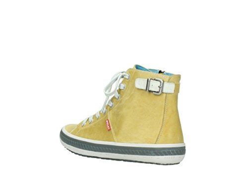 Sandali Wolky KA 30920 Light Yellow Leather