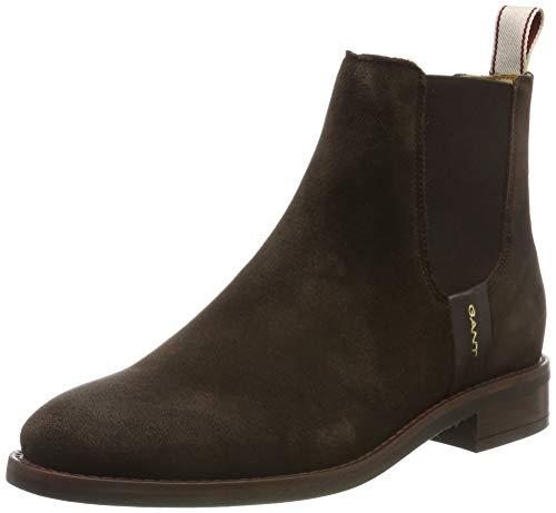 GANT Footwear Damen FAY Chelsea Boots, Braun (Dark Brown G46), 41 EU