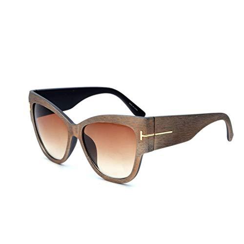 ZXL Retro Sonnenbrille der personalisierten großen Kasten-Sonnenbrille