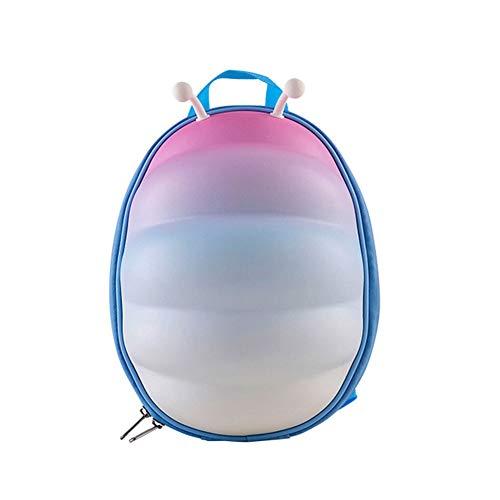 XWWS Caterpillar Schoolbag - Kinderschultasche 3D Stereo Rucksack Wasserdicht Anti-Lost Geeignet 1-4 Jahre alt,Pink