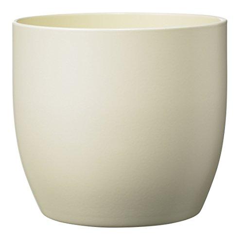 Soendgen Keramik Blumenübertopf, Basel Fashion, perlmutt matt, 21 x 21 x 20 cm, 0069/0021/1192