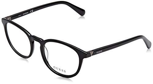 Guess Unisex-Erwachsene GU1946 001 49 Brillengestelle, Schwarz (Nero Lucido),