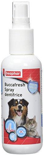 Beaphar Buccafresh, spray dentifrice hygiène bucco dentaire pour chien et chat, 150 ml