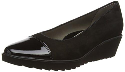 Ara - Marsala, Chaussures À Talons Noires Pour Femmes (schwarz (schwarz -01))