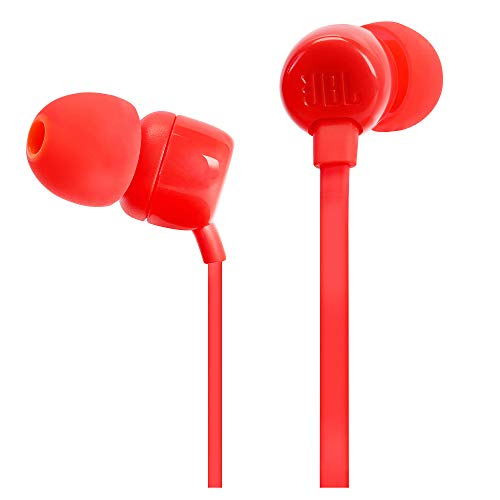 JBL Tune 110 in-Ear Headphones with Mic (Pink) Image 2