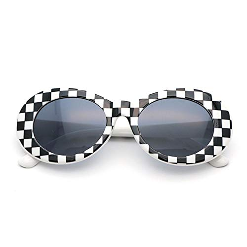 FGRYGF-eyewear2 Sport-Sonnenbrillen, Vintage Sonnenbrillen, NIRVANA Kurt Cobain Glasses Round Clout Goggles Sunglasses For Women Men Spiegeled Glasses Retro Female Male Sun Glasses as picture White