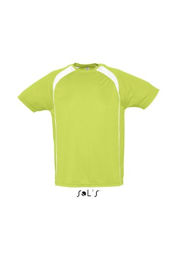 Sol S–Mens t shirt Match verde