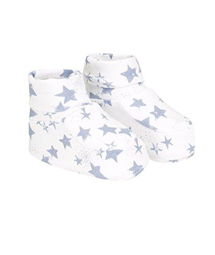 Döll Unisex Baby Babyschuhe Jersey Socken, Blau (Bering 3252), One Size (Herstellergröße: 0)
