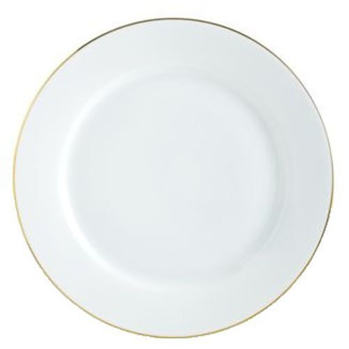 Charter Club Grand Buffet Fine Line Gold Dinner Plate by Charter Club Fine Gold Plate