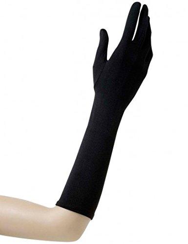 paire-de-gants-noirs-37-cm-lycra-elettronica