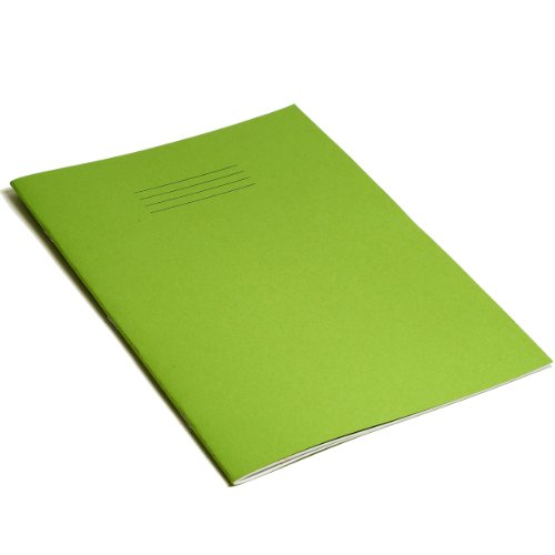 RHINO  VEX668-1205-4 F8M A4 80 Page Exercise Book - Light Green (Pack of 10)