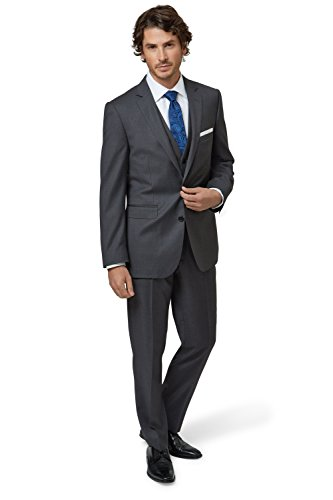 lanificio-flli-cerruti-dal-1881-cloth-mens-tailored-fit-charcoal-suit-2-piece-suit-34s-grey