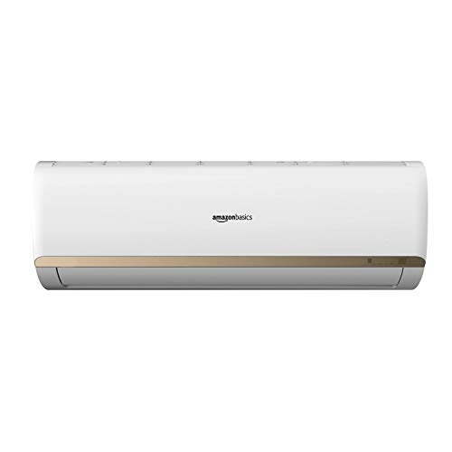 AmazonBasics 1 Ton 3 Star Inverter Split AC (Copper Condenser, White)