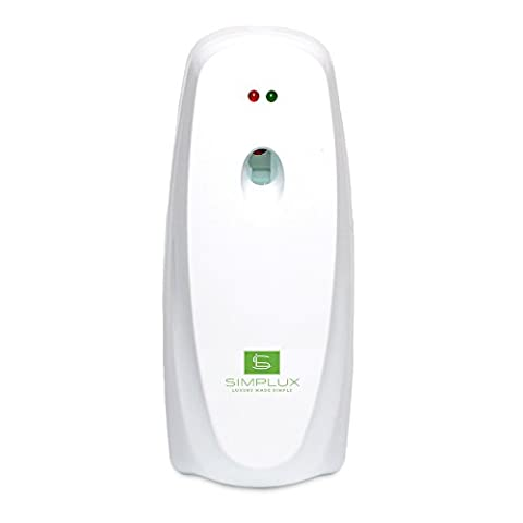 Simplux Air Freshener Automatic,Aerosol Dispenser for RoomElectric Air Fresheners Fragrant Room Sprays Aerosal Dispenser With Timer for Home Air Cleanning by