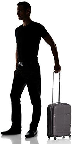 American Tourister Supersize Spinner 55/20 Maletas y trolleys, 55 cm, 30 L, Negro (Negro)