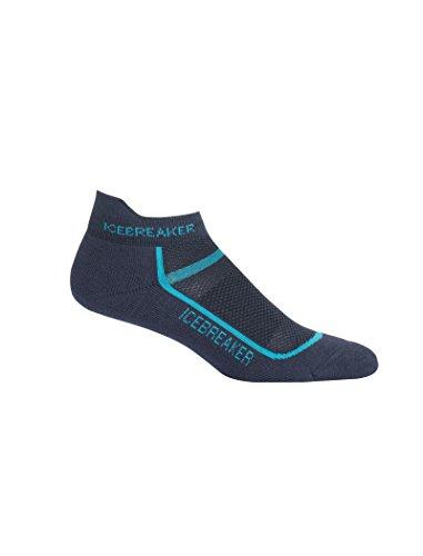 Icebreaker Merino Damen Multisport Light Micro sportliche Strümpfe, Oil/Lagoon, Large - Adidas Womens Low Cut Sock