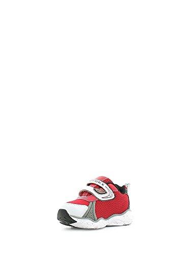 Lumberjack Wrap Bright, Sneaker a Collo Basso Bambino Rosso