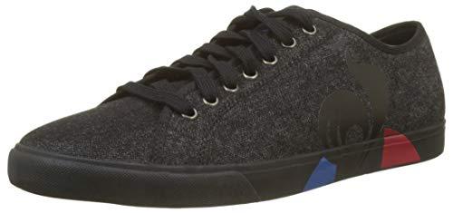 le coq Sportif Herren Verdon Bold Black Sneaker, Schwarz Noir, 43 EU