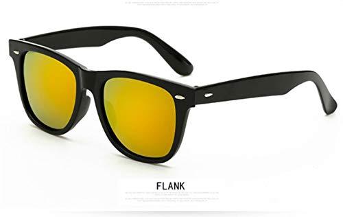 Cranky Orange Half Metal Fashion Sonnenbrille Männer/FrauenMarkendesignerRetro NietObjektiv KlassischeSonnenbrilleWeibliche Oculos, C4