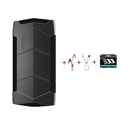 CONRAL 10800mAh 12V Auto-Starthilfe, Booster, Powerbank, Ladegerät, 400 Spitzenstartleistung für PKW-LKW-Motorräder, mit USB-Ladekabel und tragbarer Tragebox 12-volt-sla-batterie
