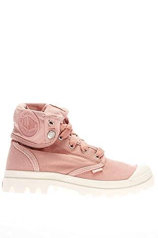 Palladium femmes Sneaker haute PACAL0134 P633 Lady Baggy marshm Soleil canvas - Rouge - Raspberry, 36