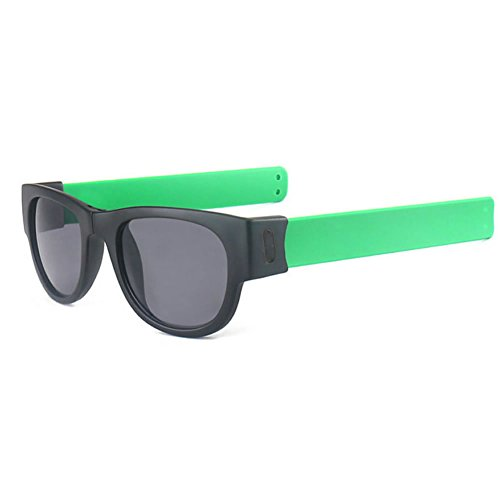 JAGENIE Slap Fashion Sunglasses Creative Wristband Slappable Glasses Snap Bracelet Bands GN
