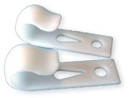 Fenderclip Kunststoff weiß für Reling