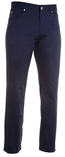 Pantalone Multistagione Uomo in Cotone Elasticizzato Con Cinque Tasche a Jeans e Passanti in Vita Payper Legend Blu Navy