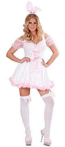 Karneval-Klamotten Kostüm sexy Bunny Dame Kostüm Karneval Tier Damenkostüm Größe 42-44
