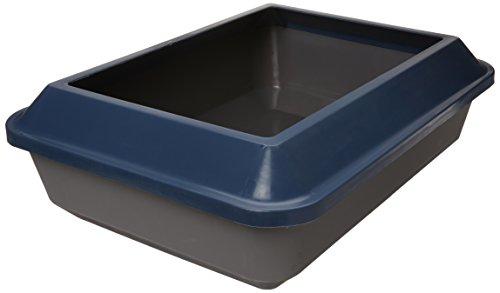 Catit Katzentoilette Größe L mit Rand schatten, blau/grau - L Schatten
