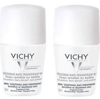 Vichy deodorante Roll-On anti-traspirante, 48ore, confezione doppia