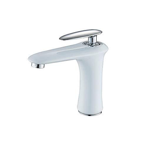 Suministros de limpieza y saneamiento Cuve fond en alliage bassin deau chaude et froide du lavabo mélangé monotrou