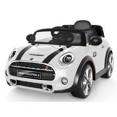 auto-elettrica-12v-per-bambini-mini-cooper-colore-bianco-con-radiocomando-parentale-luci-e-suoni-mp3